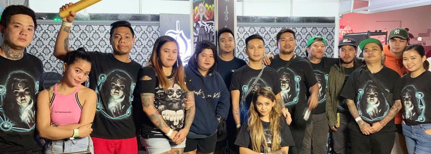 D'third Tattoo Ink Studio team of tattoo artist